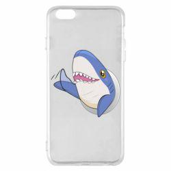 Чехол для iPhone 6 Plus/6S Plus Ikea Shark Blahaj
