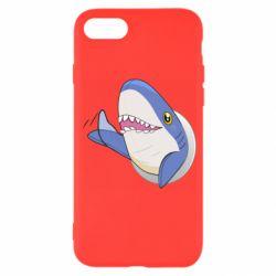Чехол для iPhone 7 Ikea Shark Blahaj