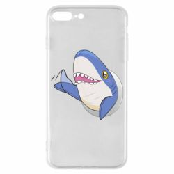 Чехол для iPhone 7 Plus Ikea Shark Blahaj