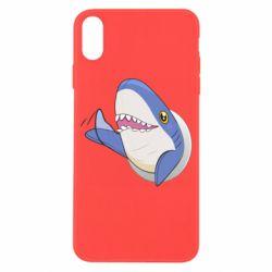 Чехол для iPhone X/Xs Ikea Shark Blahaj