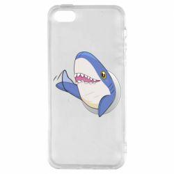 Чехол для iPhone5/5S/SE Ikea Shark Blahaj