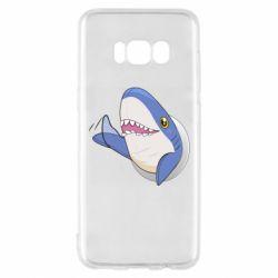 Чехол для Samsung S8 Ikea Shark Blahaj