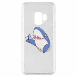 Чехол для Samsung S9 Ikea Shark Blahaj