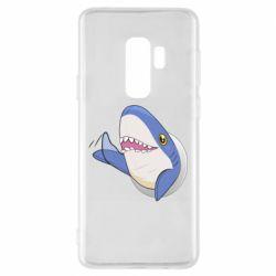 Чехол для Samsung S9+ Ikea Shark Blahaj