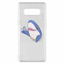 Чехол для Samsung Note 8 Ikea Shark Blahaj