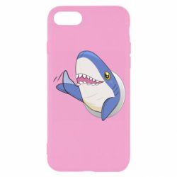 Чехол для iPhone 8 Ikea Shark Blahaj