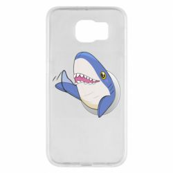 Чехол для Samsung S6 Ikea Shark Blahaj