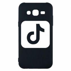 Чехол для Samsung J5 2015 Иконка тик ток
