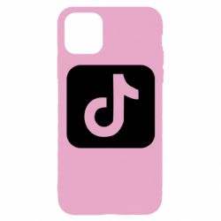 Чехол для iPhone 11 Pro Иконка тик ток