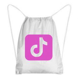 Рюкзак-мешок Иконка тик ток