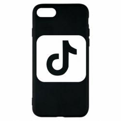 Чехол для iPhone 7 Иконка тик ток