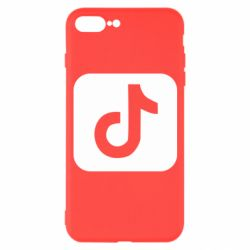 Чехол для iPhone 7 Plus Иконка тик ток