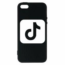 Чехол для iPhone5/5S/SE Иконка тик ток