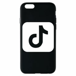 Чехол для iPhone 6/6S Иконка тик ток