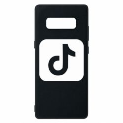 Чехол для Samsung Note 8 Иконка тик ток