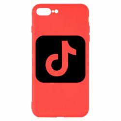 Чехол для iPhone 8 Plus Иконка тик ток