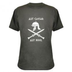 Камуфляжная футболка Или Цезарь, или ничто - FatLine