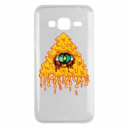 Чехол для Samsung J3 2016 Illuminati is melting