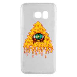 Чехол для Samsung S6 EDGE Illuminati is melting