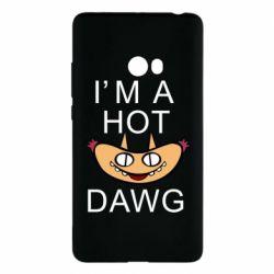 Чехол для Xiaomi Mi Note 2 Im hot a dawg