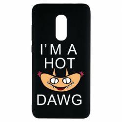 Чехол для Xiaomi Redmi Note 4 Im hot a dawg