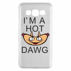 Чехол для Samsung A3 2015 Im hot a dawg