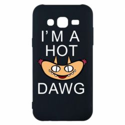 Чохол для Samsung J5 2015 Im hot a dawg