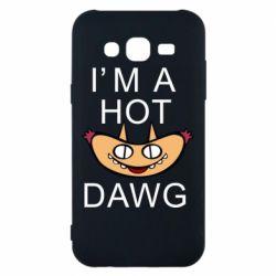 Чехол для Samsung J5 2015 Im hot a dawg
