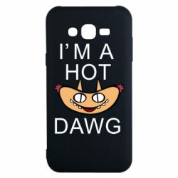 Чохол для Samsung J7 2015 Im hot a dawg