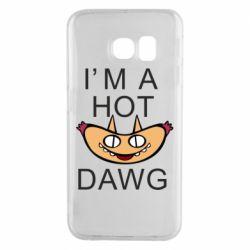 Чехол для Samsung S6 EDGE Im hot a dawg