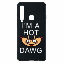 Чехол для Samsung A9 2018 Im hot a dawg