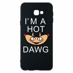 Чехол для Samsung J4 Plus 2018 Im hot a dawg