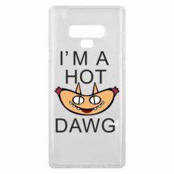 Чехол для Samsung Note 9 Im hot a dawg