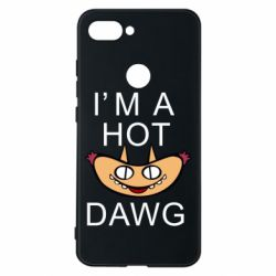 Чехол для Xiaomi Mi8 Lite Im hot a dawg