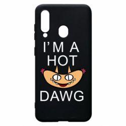 Чехол для Samsung A60 Im hot a dawg