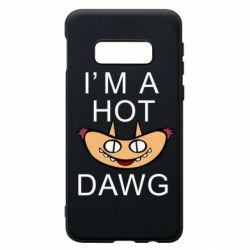 Чехол для Samsung S10e Im hot a dawg