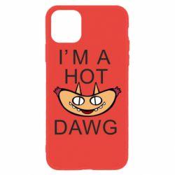 Чехол для iPhone 11 Im hot a dawg