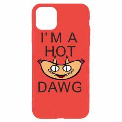 Чехол для iPhone 11 Pro Max Im hot a dawg