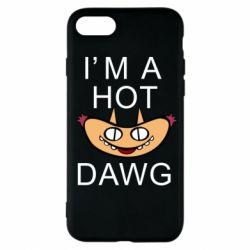 Чехол для iPhone 7 Im hot a dawg