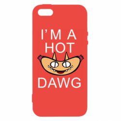 Чехол для iPhone5/5S/SE Im hot a dawg