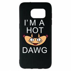 Чехол для Samsung S7 EDGE Im hot a dawg