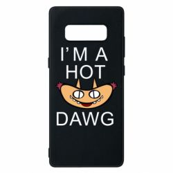 Чехол для Samsung Note 8 Im hot a dawg