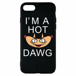 Чехол для iPhone 8 Im hot a dawg