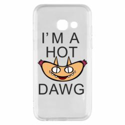 Чехол для Samsung A3 2017 Im hot a dawg
