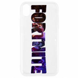 Чехол для iPhone XR Image in Fortnite