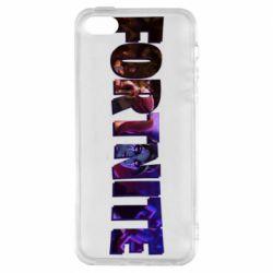 Чехол для iPhone5/5S/SE Image in Fortnite