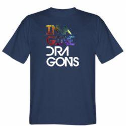 Чоловіча футболка Imagine Dragons and space