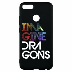 Чехол для Xiaomi Mi A1 Imagine Dragons and space