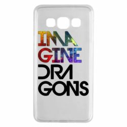 Чехол для Samsung A3 2015 Imagine Dragons and space