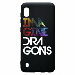 Чехол для Samsung A10 Imagine Dragons and space